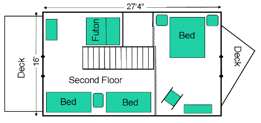Twin Rocks Floor Plan 2d Floor